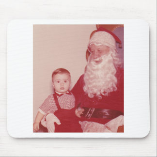 1960's Little Boy and Santa Mouse Pads