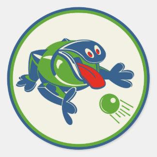 1960s Odd Ogg Toy Classic Round Sticker