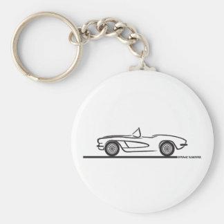 1961 1962 Chevrolet Corvette Key Ring