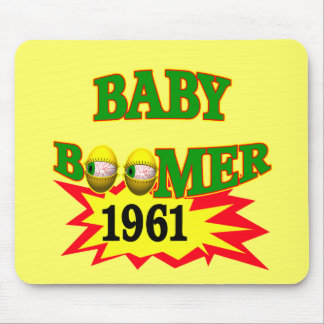 1961 Baby Boomer Mousepads