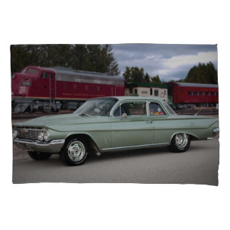 1961 Chevy Chevrolet Biscayne Classic Car Pillowcase
