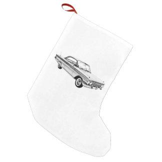 1961 Chevy Impala Bubble Top Small Christmas Stocking