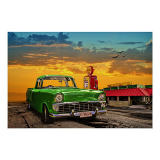 1961 EK Holden Ute Poster