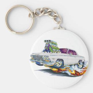 1962-63 Impala White Car Key Ring