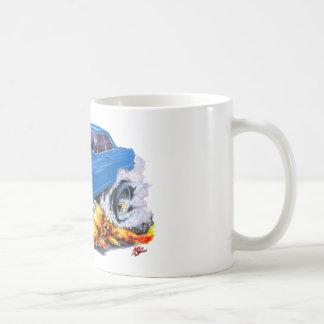 1962-65 Nova Blue Car Coffee Mug