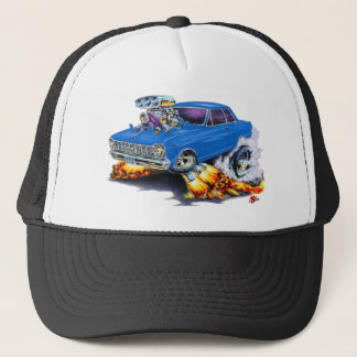 1962-65 Nova Blue Car Trucker Hat