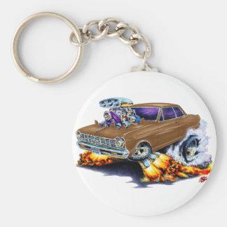 1962-65 Nova Brown Car Key Ring