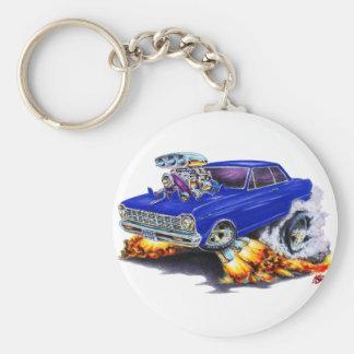 1962-65 Nova Dark Blue Car Key Ring