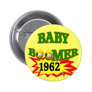 1962 Baby Boomer Button