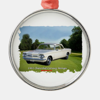1962_Corvair_Monza Metal Ornament