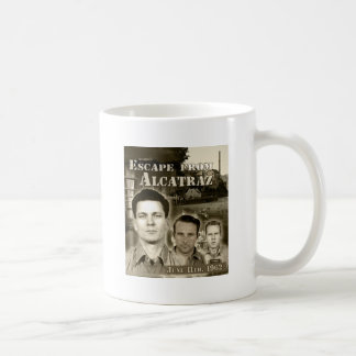1962 Escape From Alcatraz - Morris & Anglins Coffee Mug