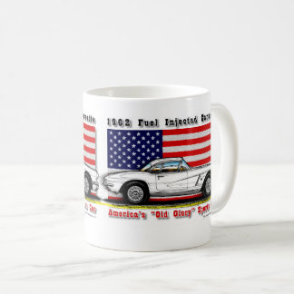 1962 Fuel Injected Corvette Coffee Mug