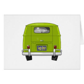 1962 Hippie Van Card