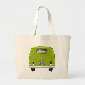 1962 Hippie Van Large Tote Bag