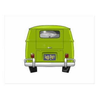 1962 Hippie Van Postcard