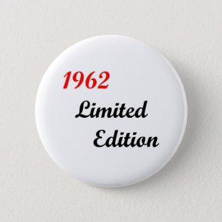 1962 Limited Edition 6 Cm Round Badge