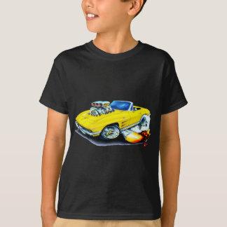1963-64 Corvette Yellow Convertible Tshirts