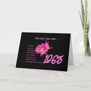 1963 Years Birthday Cards | Zazzle com au