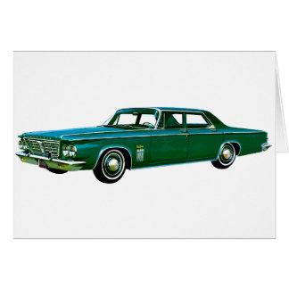 1963 Chrysler New Yorker Card