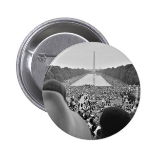 1963 Civil Rights March on Washington D.C. 6 Cm Round Badge
