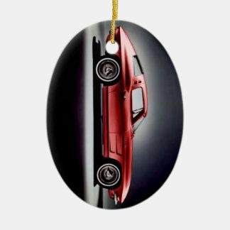 1963 Corvette Sting Ray Ceramic Ornament