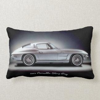 1963 Corvette Sting Ray Throw Cushion
