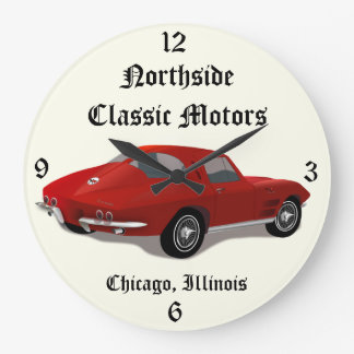 1963 Corvette Stingray Split Window Clock