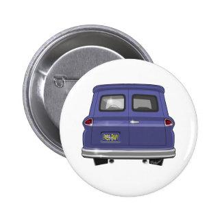 1963 GMC Chevy Panel Truck 6 Cm Round Badge