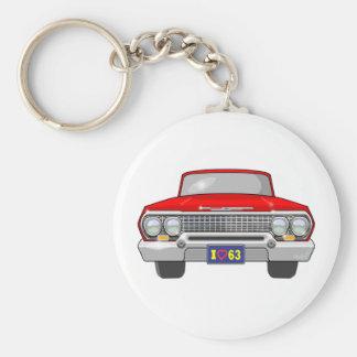 1963 I Love Chevrolet Key Ring