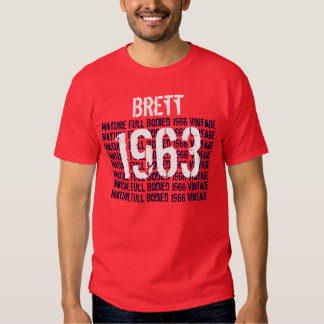 1963 Mature Full Bodied Vintage 50th Gift for Him T-shirts