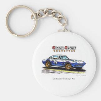 1963 Roger Penske Coupe racing Grand Sport Key Ring