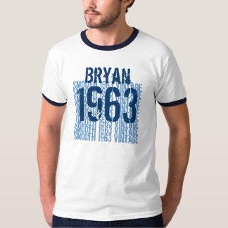 1963 Smooth Vintage Custom Name Birthday Tee Shirts