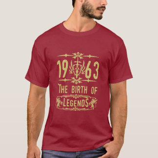 1963 The birth of Legends! T-Shirt