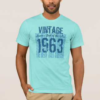 1963 Vintage Best of the 60's Custom Name V22 T-Shirt