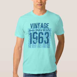 1963 Vintage Best of the 60's Custom Name V22 Tshirts