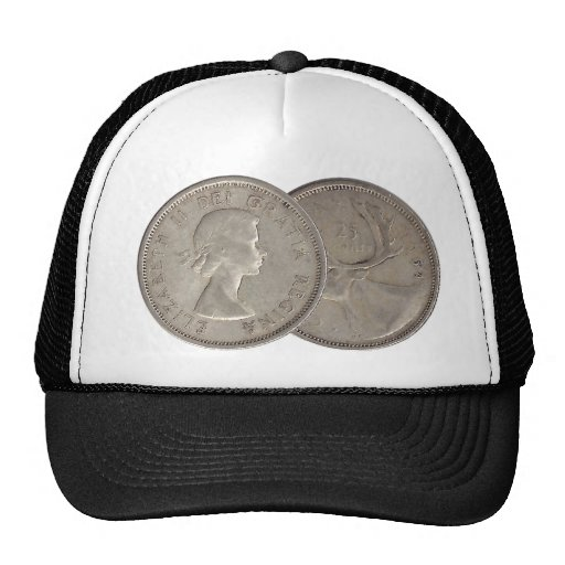 1964 Canadian Quarter Mesh Hats