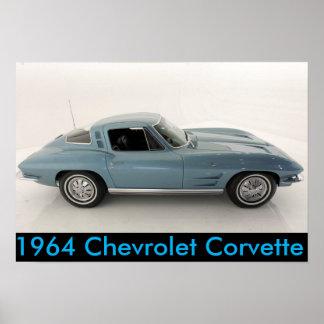 1964 Chevrolet Corvette Poster