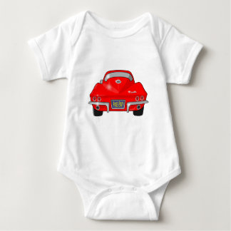 1964 Chevrolet Corvette Stingray Baby Bodysuit