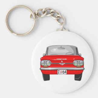 1964 Corvair Front View Key Ring
