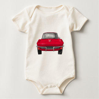 1964 Corvette Stingray Front Baby Bodysuit