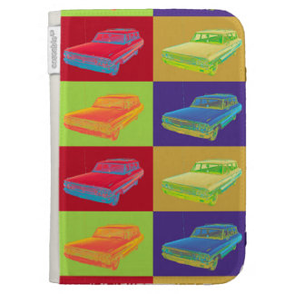 1964 Ford Galaxy Station Wagon Pop Art Case For Kindle