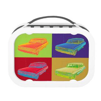 1964 Ford Galaxy Station Wagon Pop Art Lunchbox