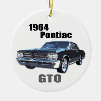 1964 GTO- front Ceramic Ornament