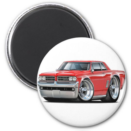 1964 GTO Red Car Magnet