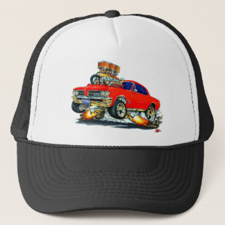 1964 GTO Red Car Trucker Hat