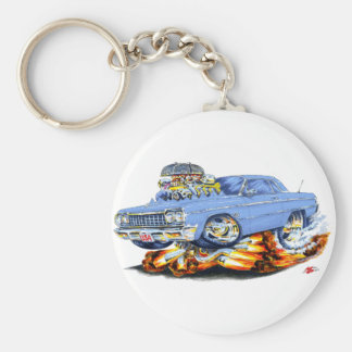 1964 Impala Light Blue Car Key Ring