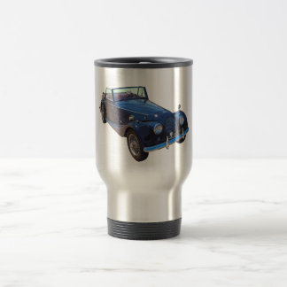 1964 Morgan Plus 4 Convertible Sports Car Travel Mug