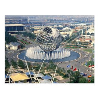 1964 New York World s Fair - Unisphere Postcard