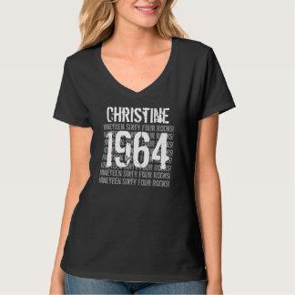 1964 or Any Year Rocks 50th Birthday Gift v3 T-Shirt