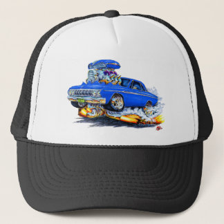 1964 Plymouth Fury Blue Car Trucker Hat